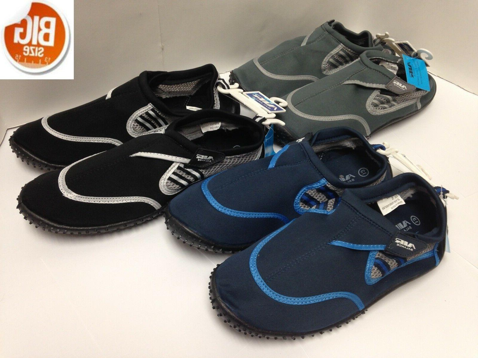 men s aqua water shoes big size