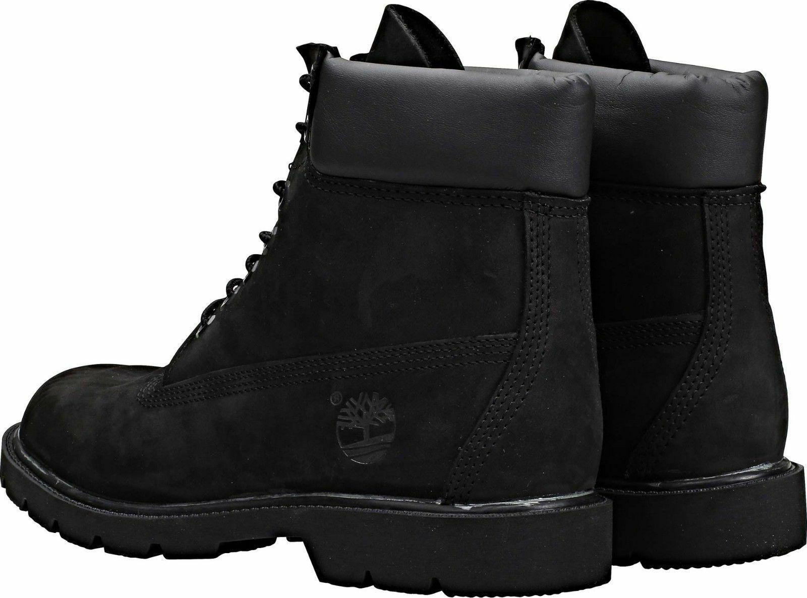 Timberland Men's Basic 6 Inch Black Suede