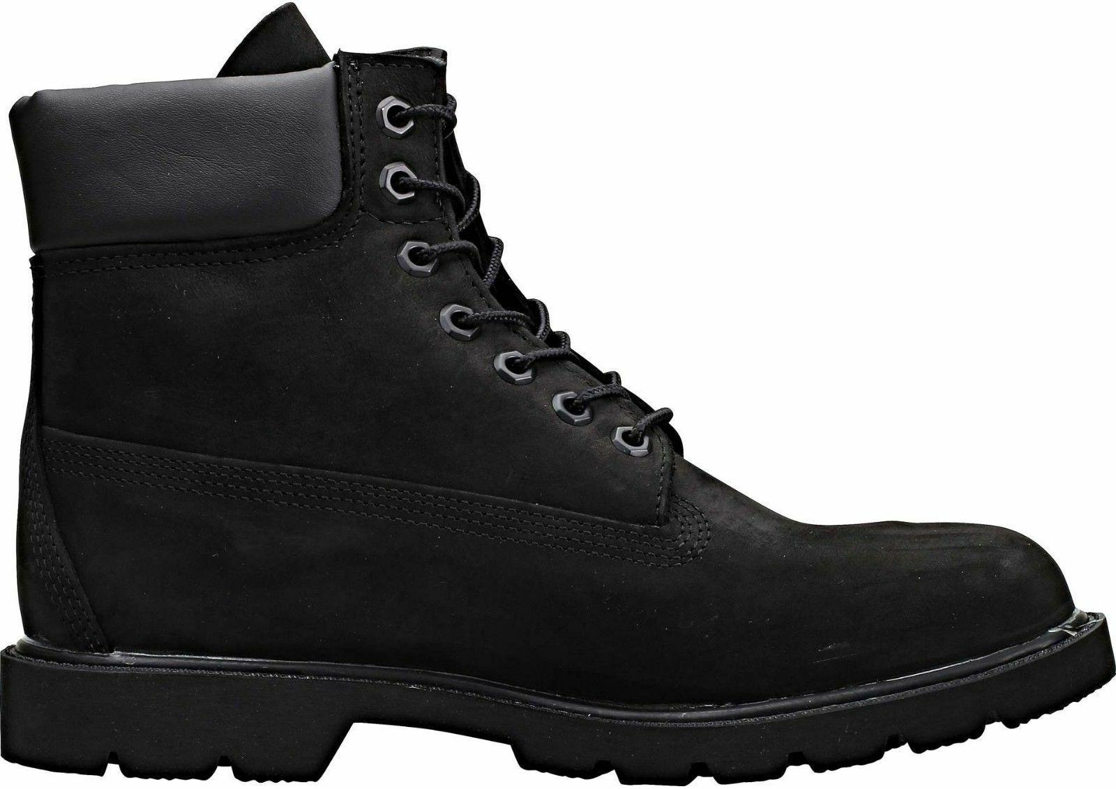 Timberland Men's Basic Boot 6 Black