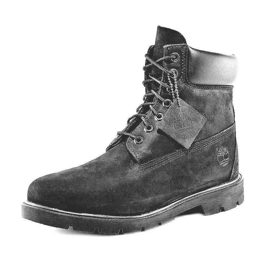 Timberland Men's 6 proof Black