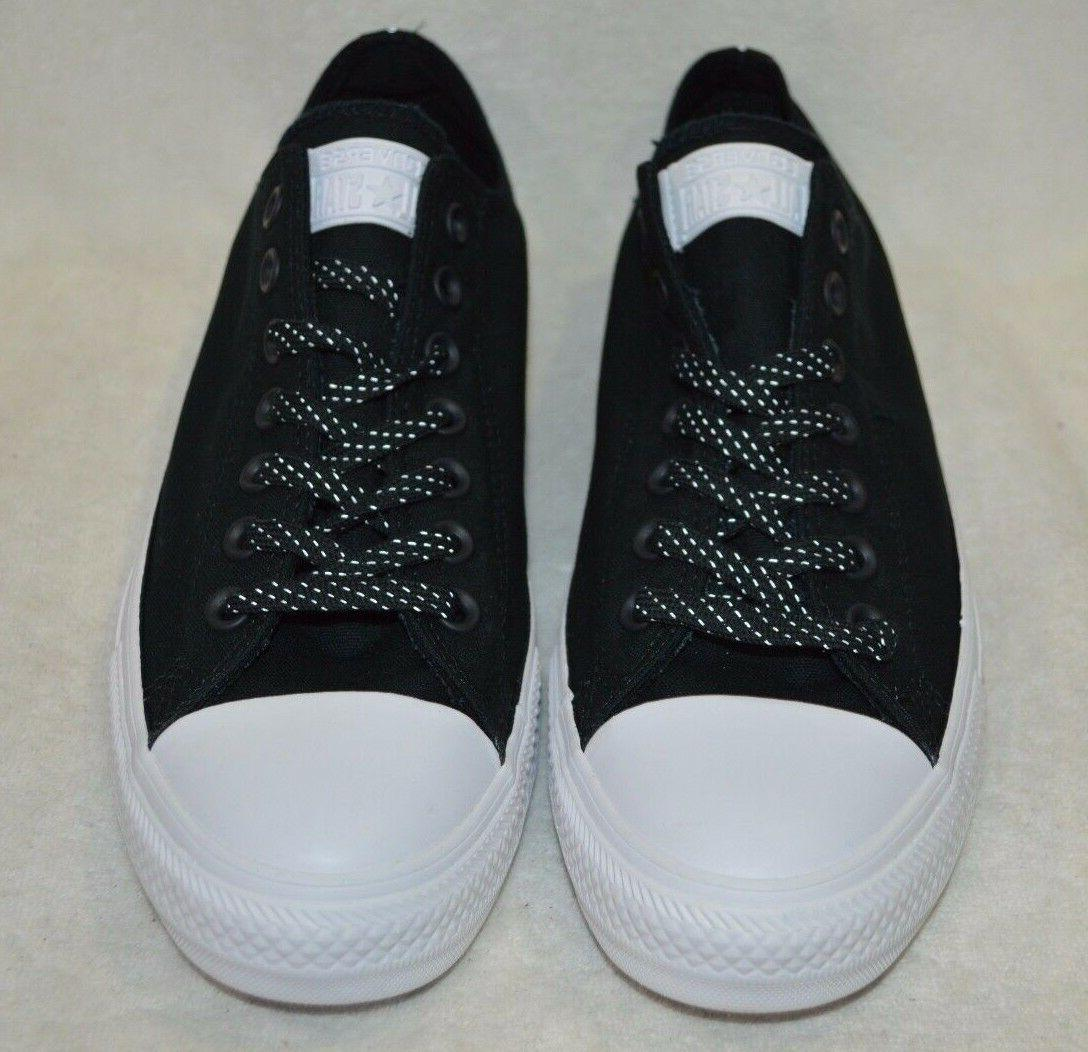 OX Water-Repellent Black / White Size 9