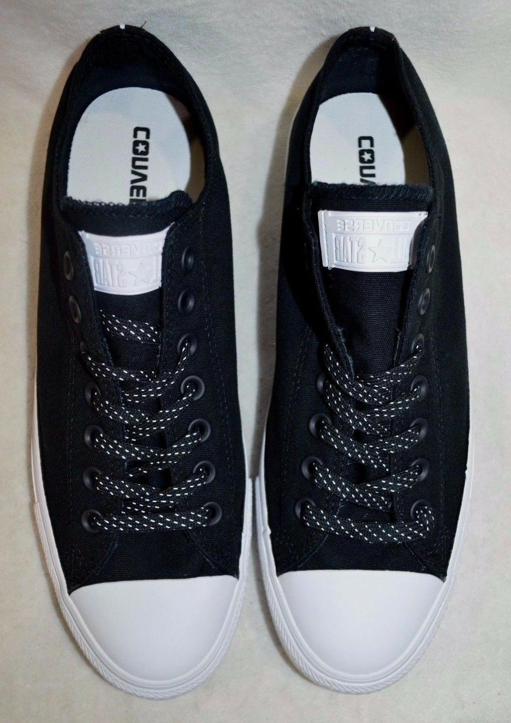 OX Black White Sneakers 9 /
