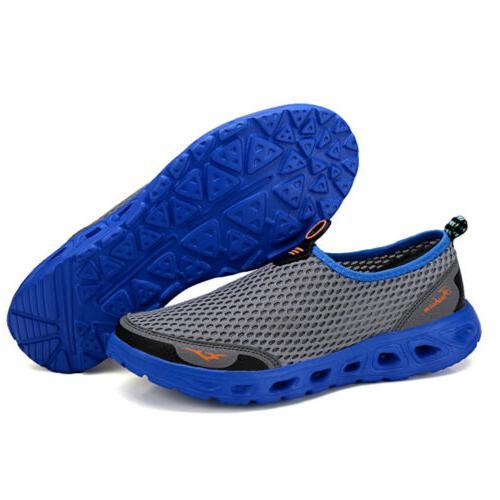 Men's Outdoor Mesh Shoes Drying Beach Trekking Fishing