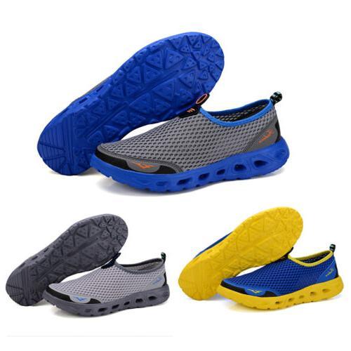 men s outdoor mesh water shoes quick