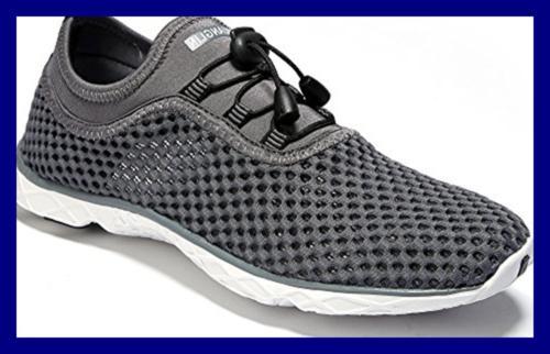 Zhuanglin Drying AQUA Shoes Darkgrey% 10.5 D Mens