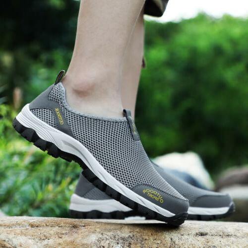 Men's Quick-Drying Mesh Water Shoes Hiking Swim Surf Sneakers