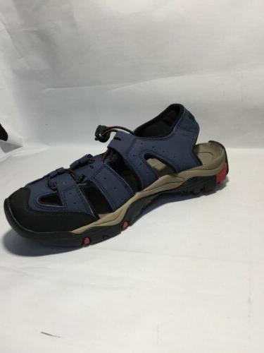 ATIKA Men's Size 7 Navy Sandals Cap Trail Shoes