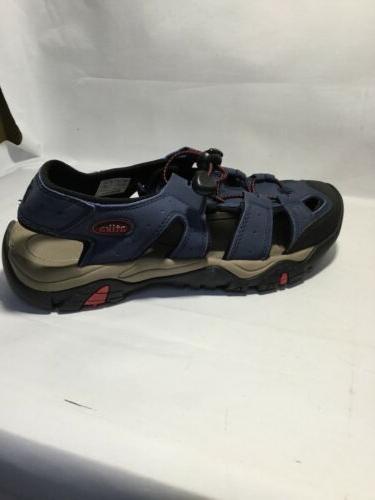 ATIKA Men's 7 Navy Sports Sandals Cap Outdoor Shoes