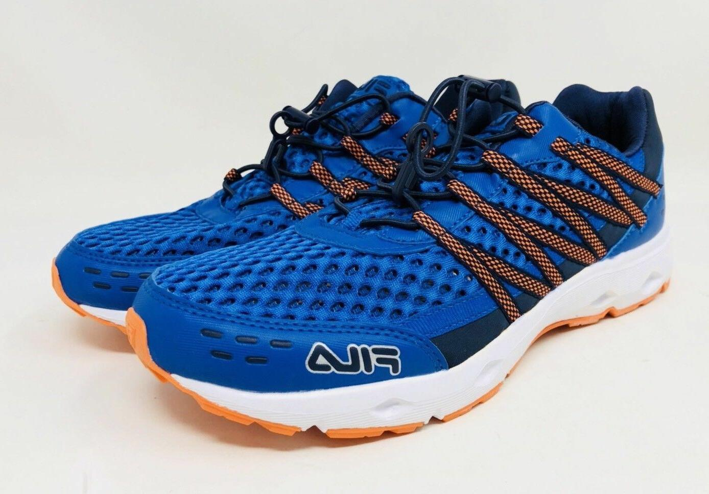 FILA Men's Sorento Sneaker Shoes Pick A Size Blue/Orange