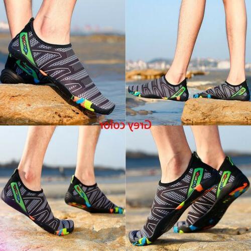 Mens Shoes Swimming Barefoot Aqua Quick-Dry Pool