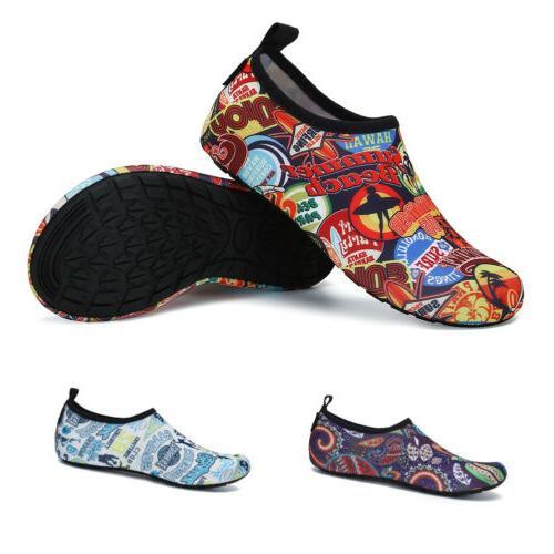 Men Water Shoes Socks Diving Non-slip Beach 45Colors