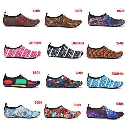 Men Water Shoes Socks Non-slip Swim 45Colors