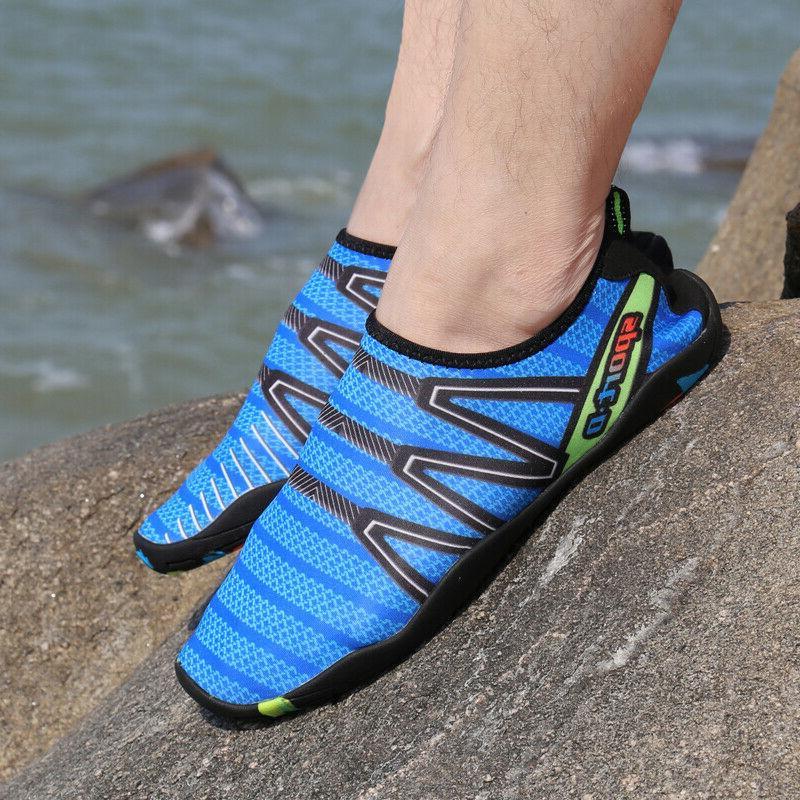 Men Water Shoes Beach Aqua Socks Quick Dry Surfing