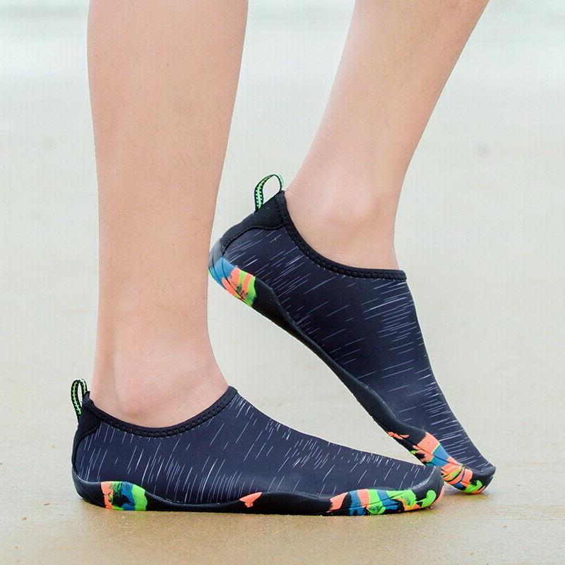 Men Shoes Barefoot Aqua On