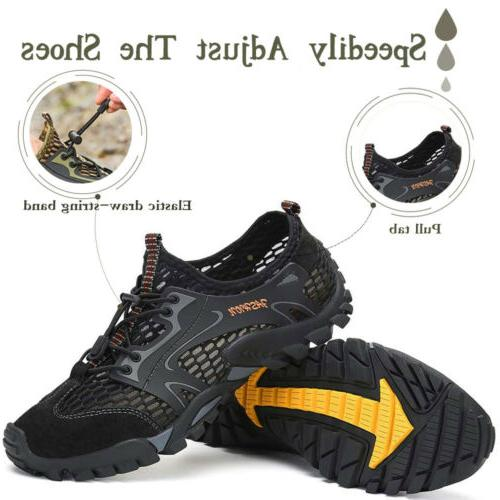 Men Quick Dry Shoes for Beach River Boatting