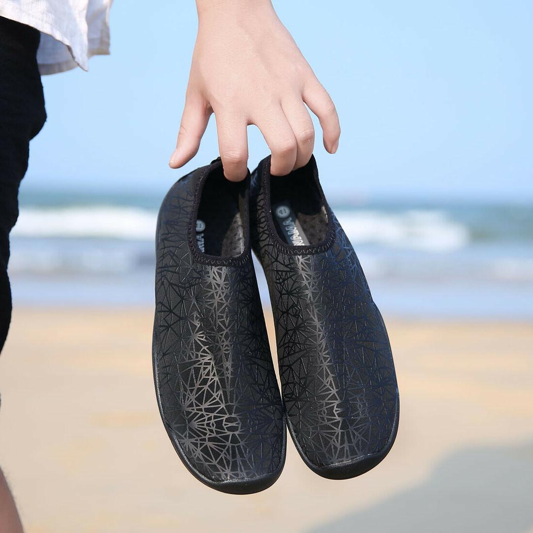 Mens Water Athletic Sneakers Lightweight Black