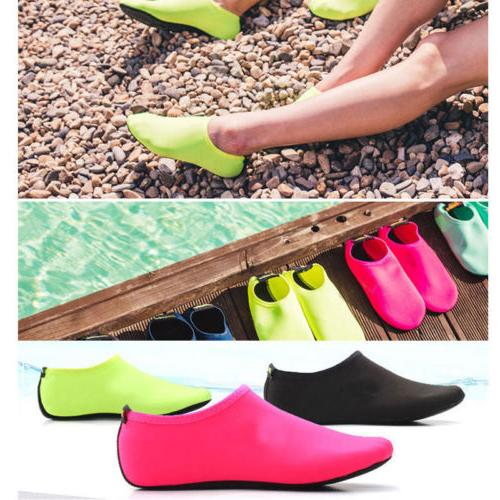Men Skin Shoes Yoga Pool Beach Slip On Surf