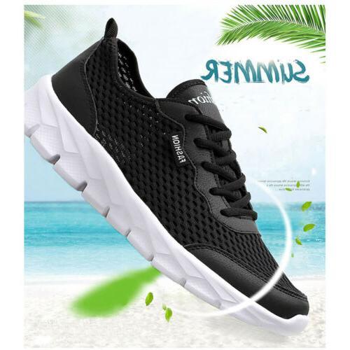 Men Mesh Water Sneaker Breathable Walk Fashion