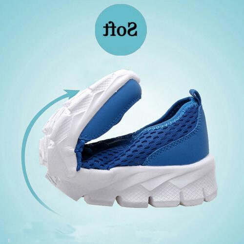 Men Mesh Water Sneaker Breathable Walk Sport Shoes