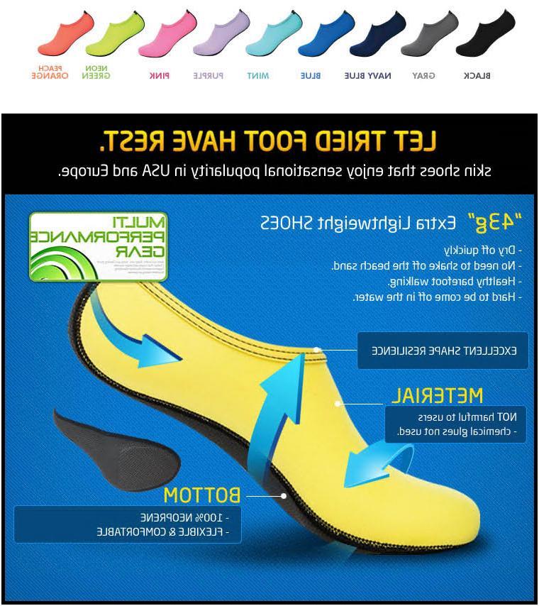 NEW Barefoot Shoes Socks Swim Yoga