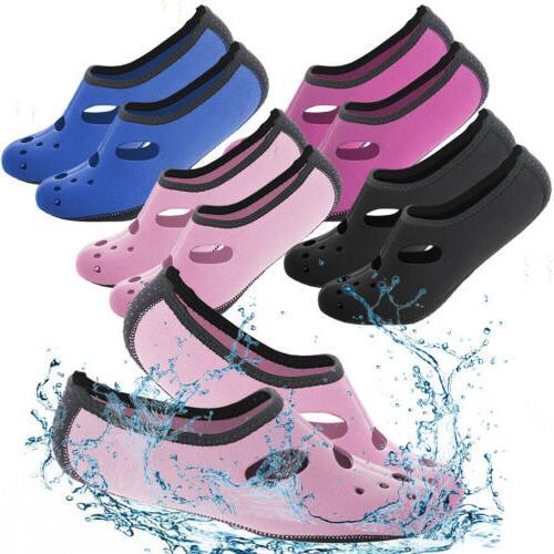 For Men Women Skin Water Shoes Socks Yoga Swim Unisex