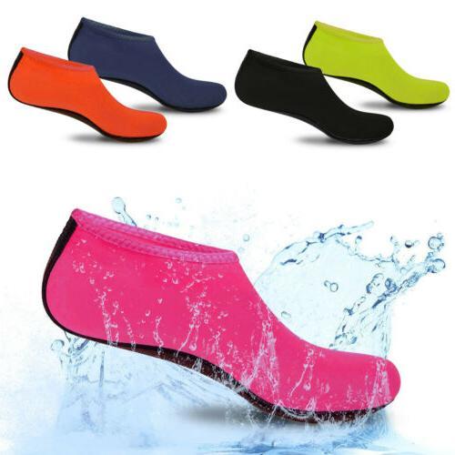 Men Women Aqua Shoes Beach Swim Sports Exercise