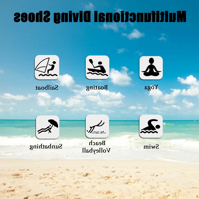 Men Barefoot Beach Swim Exercise