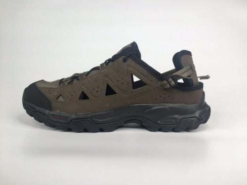mens alhama sz 9 5 brown quicklace
