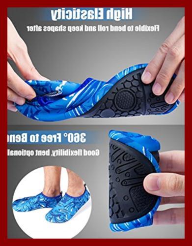 Mens Womens Water Shoes Quick Dry Beach AQUA Skin Booties