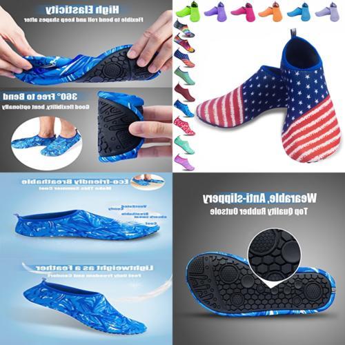 Mens & Shoes Quick Beach AQUA Socks Upgraded Skin Booties