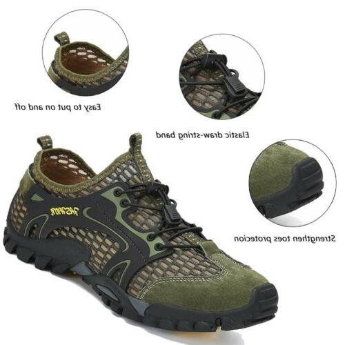 Mens Barefoot Water Aqua Mesh Walking Sandals