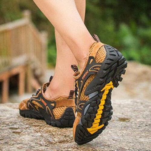 Mens Barefoot Aqua Mesh Hiking Walking Sandals