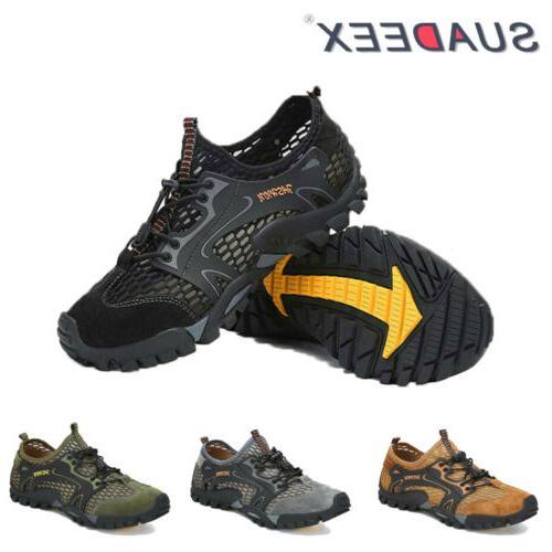 mens lightweight barefoot water aqua shoes quick