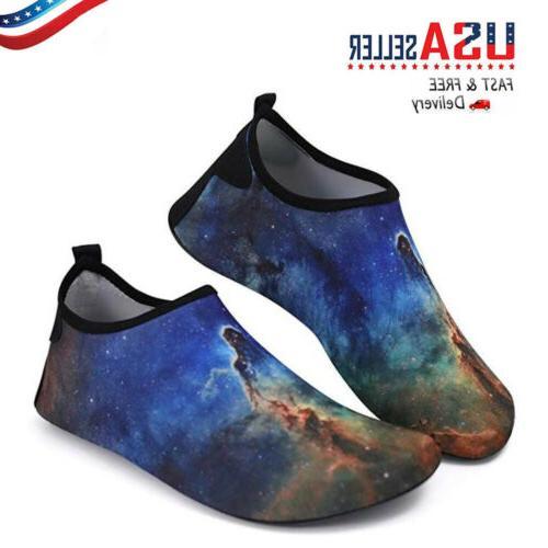 mens barefoot water shoes aqua socks quick