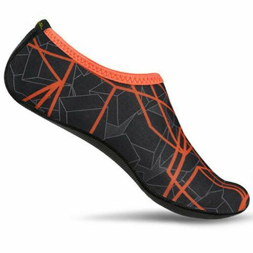 Mens Skin Shoes Aqua Socks Swim Slip Yoga Exercise