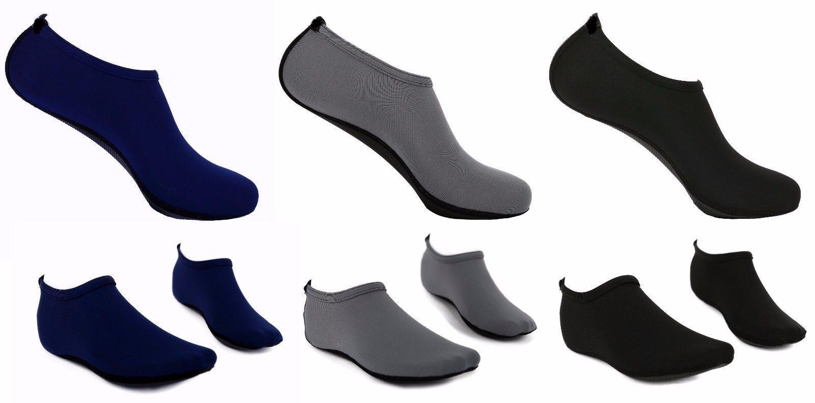 mens barefoot water skin shoes aqua socks