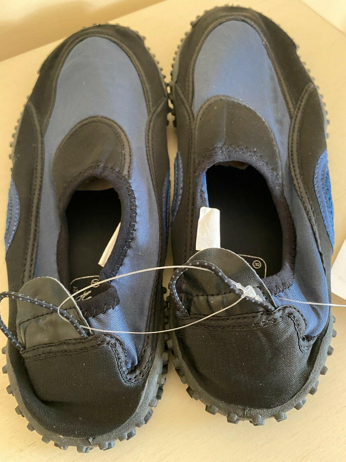 Mens Water Shoes Aqua 12 Slip