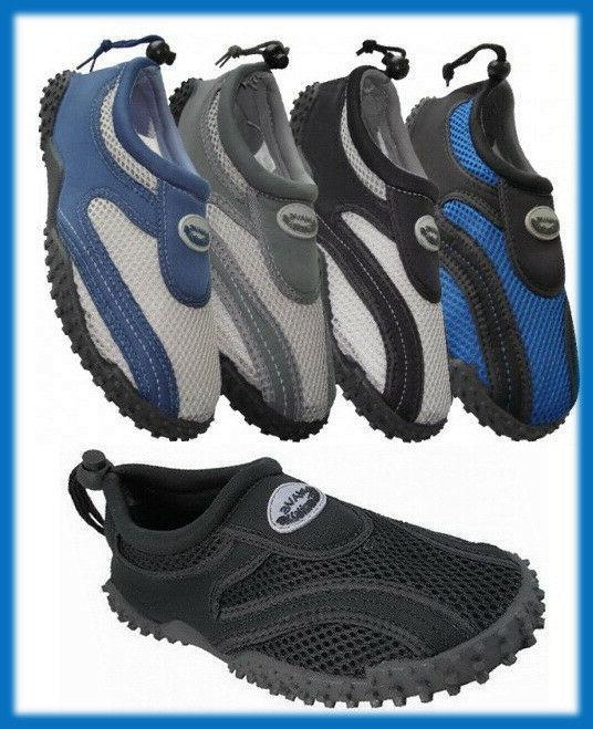 mens slip on water shoes aqua socks