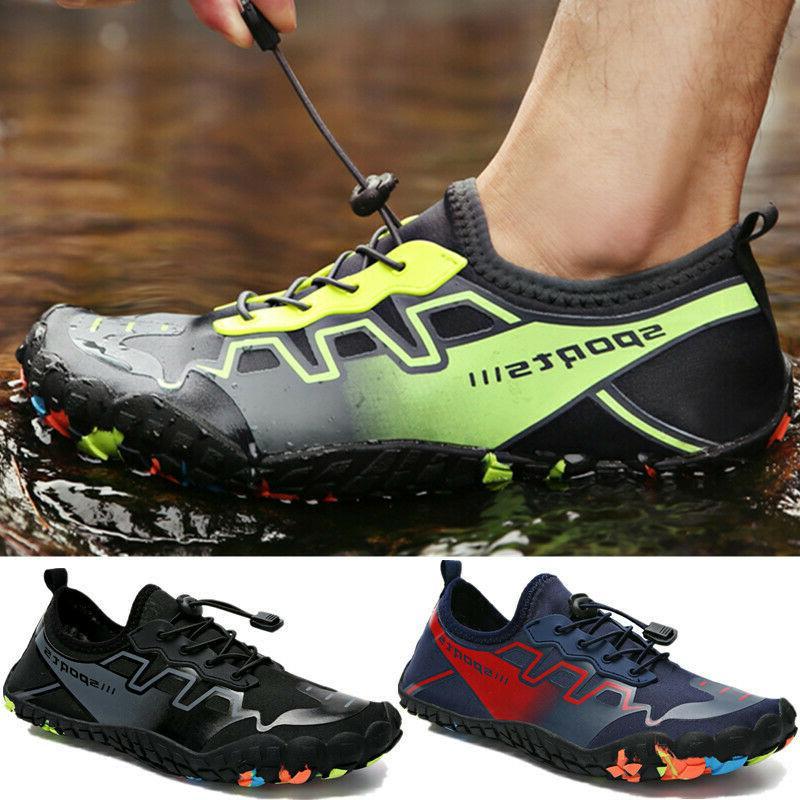 mens water beach shoes aqua socks yoga