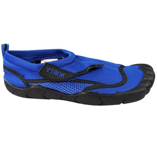 Norty Men's Aqua Size Blue and Slip-On