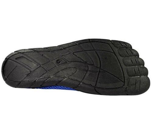 Norty Aqua Size 8 Blue Black Slip-On