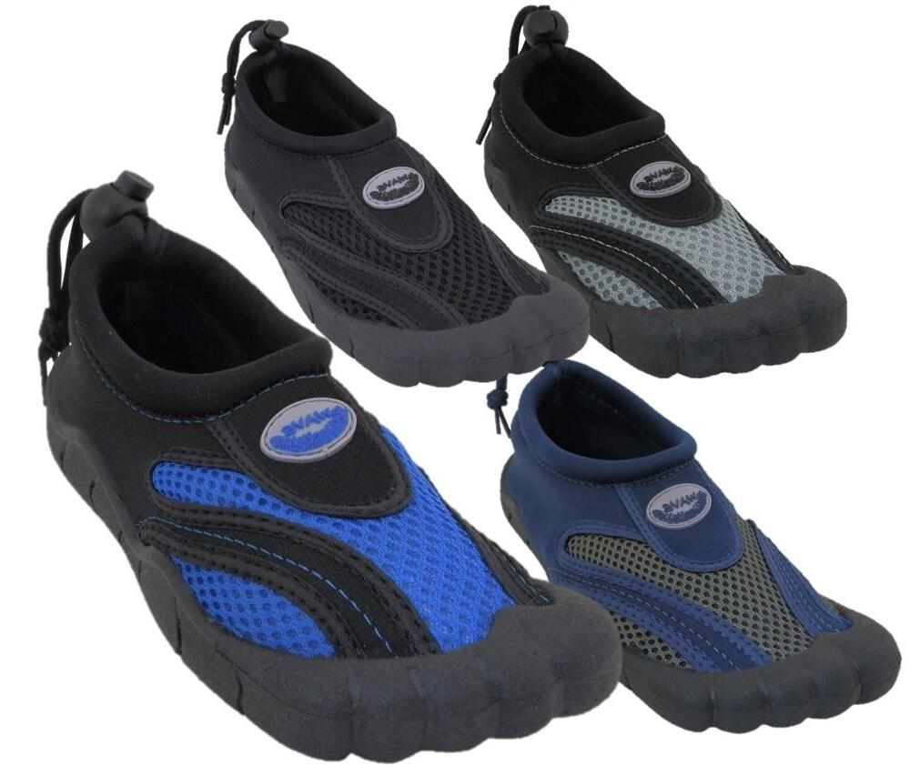 "Mens ""Barefoot"" Water Shoes/Aqua Socks Pool Beach Surf Exerc"