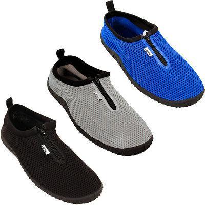 Mens Water Shoes Aqua Socks Slip On Flexible Pool Beach Swim