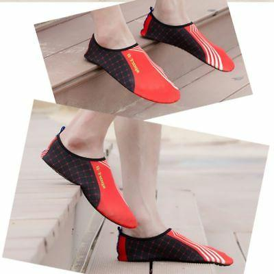 Mens Shoes Socks Exercise Pool Beach Swim Wave
