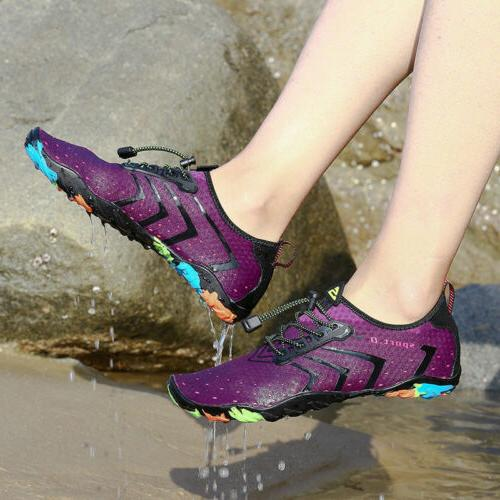 Unisex Mens Womens Aqua Beach Shoes Dry Barefoot Swim Socks