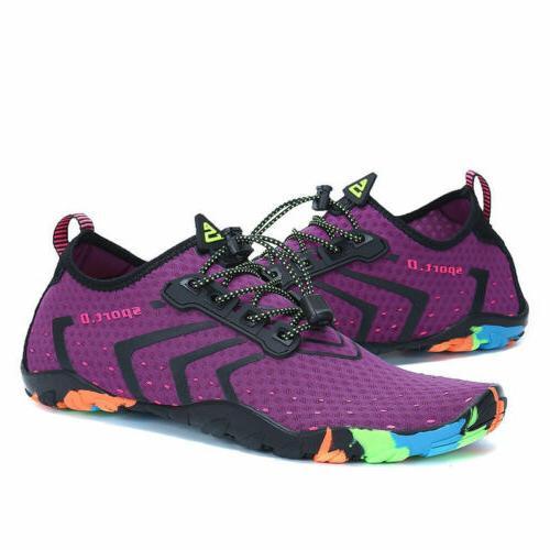 Unisex Womens Aqua Beach Shoes Dry Barefoot Sport Socks