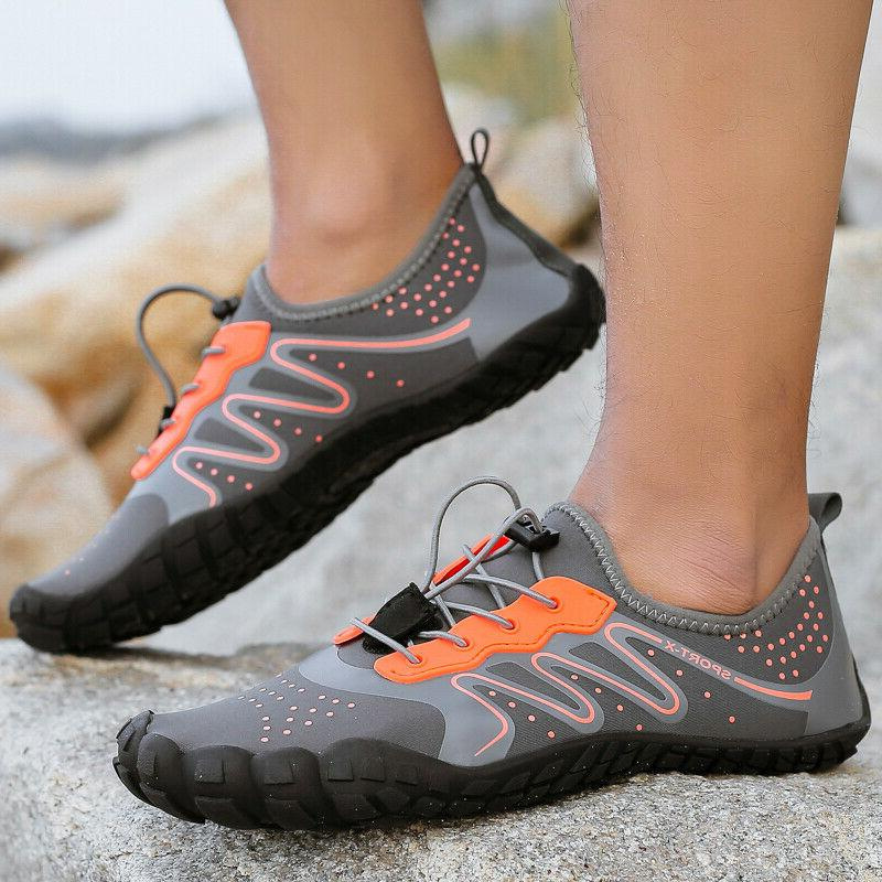 Mens Shoes Beach Barefoot Swimming Shoes