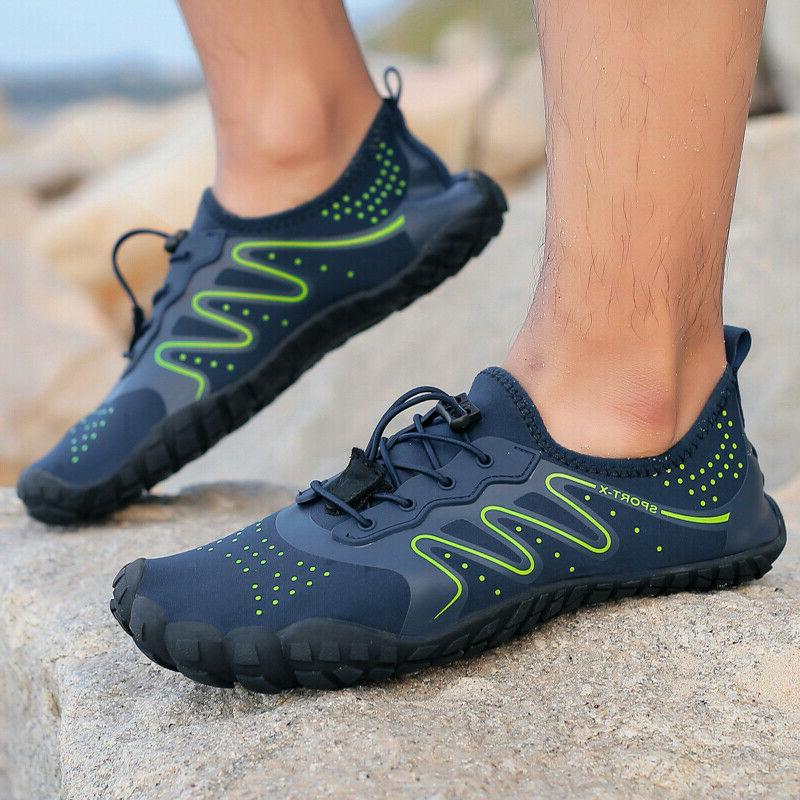 Mens Shoes Barefoot Quick-Drying Swimming Brook Shoes