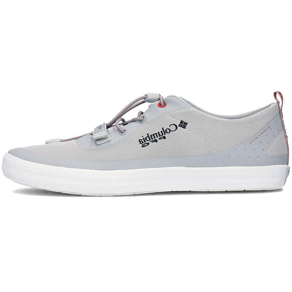 Mens Columbia Water Shoes Gray Boat