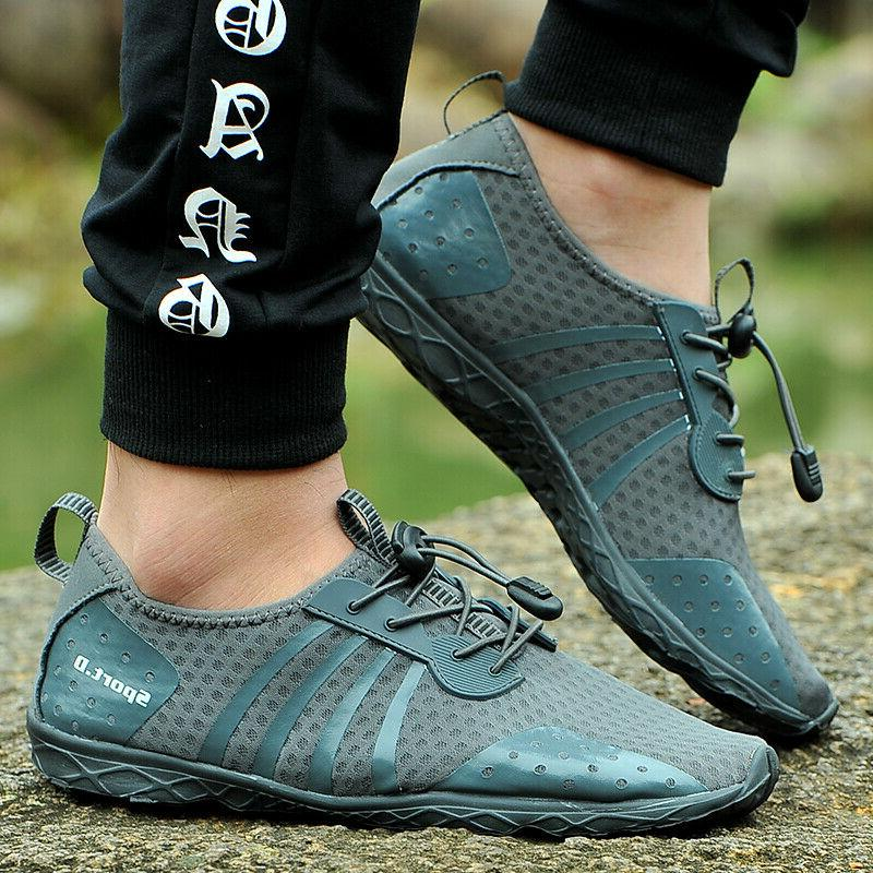 Mens Shoes Outdoor Hiking Dry Barefoot Swim Exercise Pool